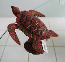 Wiggly Reddish-Brown Turtle