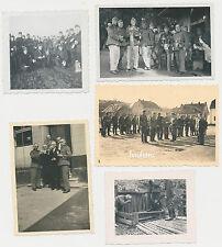 5 x Foto Soldaten -Wehrmacht  2.WK ( L346)
