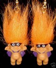 HALLOWEEN COSTUMED BANDIT EARRINGS Russ Troll NIP