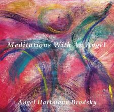 NEW Meditations With An Angel CD Voice Guided With Harps Crystal Toning Bowls