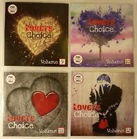 'Lovers Choice 9-12' JUMBO 4CD pack Superb Lovers Reggae, Rubadub & Lovers Rock