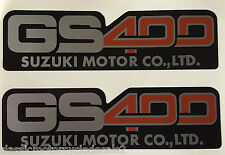 SUZUKI GS400 LATO Pannello decal