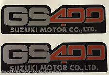 SUZUKI GS400 SIDE PANEL DECALS