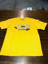 ABECROMBIE & FITCH - BRAND NEW YELLOW  SHORT-SLEEVE T-SHIRT - SIZE TEEN MEDIUM