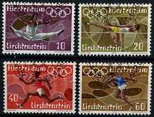 Liechtenstein 1972 GIOCHI OLIMPICI SG#544-7 usato CTO Set #D59375