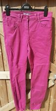 Marks And Spencer Jeggings Purple Orchid Size 12 LONG