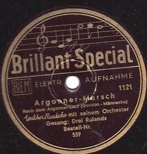Walter Raatzke und die  Drei Rulands  : Argonner Marsch  ( Männecke )