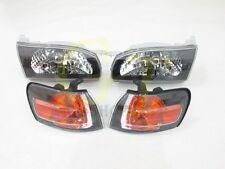 Driver Headlight fit for Corolla sedan AE110 E110 94 95 96 97 TOYOTA black #gt