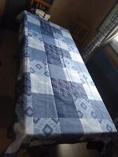 lot revendeur 20 Nappe rectangulaire antitache, 150x120cm dalea bleu NEUF