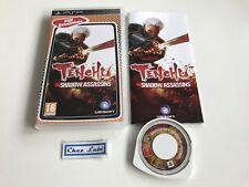 Tenchu Shadow Assassins - Essentials - Sony PSP - PAL FR - Avec Notice