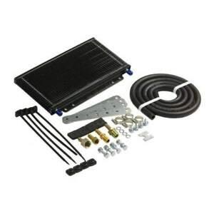 B&M 70264 SuperCooler Trans Cooler 14400 BTU Rated