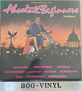 Absolute Beginners The musical David Bowie vinyl lp record soundtrack EX / EX