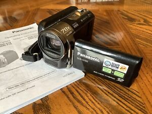 Panasonic Camcorder SDR-H100 80GB +OPTIONAL SD CARD