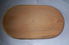 Handmade Sycamore Wood Oval Bread Cutting Board