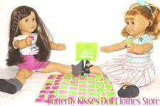 Little Checkers Game  18 in Doll Clothes Fits American Girl G