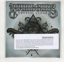 (HM508) Young Guns, Crystal Clear - 2010 DJ CD