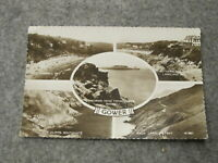 Swansea 1963 Fr real photo postcard - Scenes from The Gower