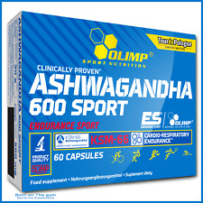 Olimp Ashwagandha 600 Sport 60 Capsules Root Extract Endurance Energy Recovery