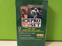 NFL Pro Set 1990 (Series 1/I) Sealed Wax Box - 36 Count