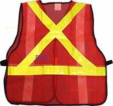 New Mesh CSA Z96 Orange Reflective Safety vest High Visibility