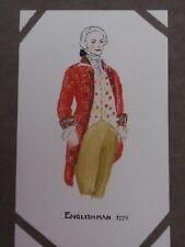 VINTAGE D.M.DENMAN ENGLISHMAN UNSIGNED ORIGINAL PEN INK WATERCOLOUR DRAWING