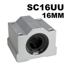 16mm SC16UU Linear Motion Ball Bearing Slider Slide Bush Bushing Replacement CNC