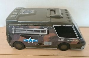 Micro Machines Military Army Super Van Truck City foldout Playset 1991 toy
