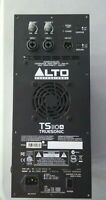 ALTO PROFESSIONAL AMPLIFIER ASSY TS110A, FOR PARTS OR REPAIR, NOT WORKING!