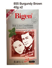 Bigen Speedy Hair Color Conditioner #865 Reddish Brown 1 Set Made in Japan