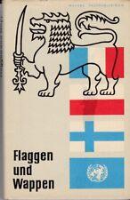Flaggen und Wappen 1967 DDR GDR Internationale Flaggen