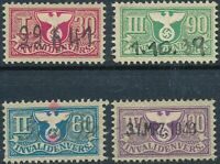 Lot Stamp Germany Revenue 1942 WWII Fascist Third Reich Recreation Vacation U