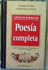 POESÍA COMPLETA - ARTHUR RIMBAUD - EDICOMUNICACIÓN 1995- VER INDICE