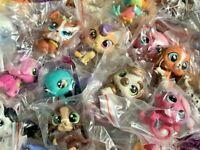 Littlest Pet Shop Mixed Lot 10 Pc Surprise Random Pet Figures Authentic LPS
