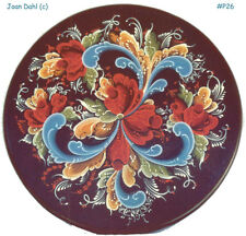 Telemark Tray Rosemaling Painting Package by Joan Dahl. Free Shipping, #26p