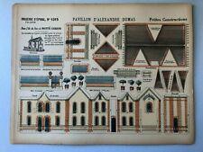 Imagerie d'EPINAL Petites Constructions PELLERIN   PAVILLON D ALEXANDRE DUMAS