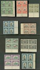 Peru 1907 set American Bank Note Co. specimen BLOCKS -3