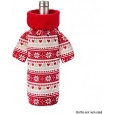 AVON CHRISTMAS JUMPER BOTTLE HOLDER---IDEAL CHRISTMAS  WINE BOTTLE &  DECORATION
