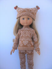 """Clothes for Corolle les Cheries,Paola Reina Handmade~13""""Doll Top , pants,Hat"""