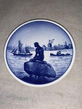 Mermaid Mini Plate Royal Copenhagen 49/2010 Denmark Fajance Langelinie Collector