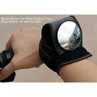 Bicycle Mirrors Bike Wrist Mirror Rearview Wristband Handlebar Reflector Mirror