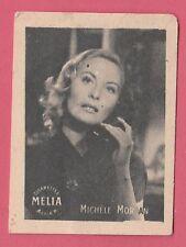 Cigarettes Melia Algeria Rare 1950s Film Star Tobacco Card - Michelle Morgan