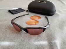 Oakley Half Jacket 1.0 Polished Black Very Rare Xtra lenses
