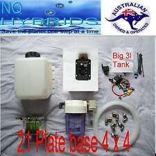 HHO  21 PLATE  BASE SET PWM + COMBO FILTER + KOH QUICK RELEASE METAL FITTTINGS