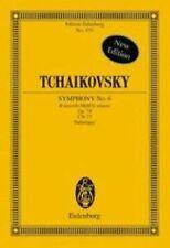 Symphony Number 6 in B Minor Opus 74b Pathetique Study Score Schott Series