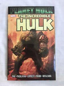 Marvel Comics The Incredible Hulk Planet Hulk 2008 Pak Pagulyan Lopresti Frank