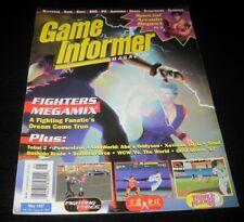 Vintage Game Informer Magazine Nintendo PS Nes Sega video games 1997 issue 49