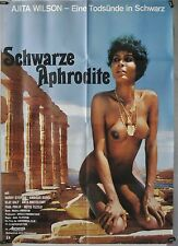 L17 - Sex / Erotik - SCHWARZE APHRODITE - Original Kinoplakat