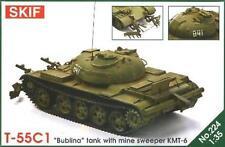 T-55 C-1 BUBLINA - COLD WAR ERA SOVIET HEAVY MINE SWEEPER 1/35 SKIF RARE!
