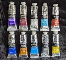 Winsor and Newton Artisan Water Mixable Artists oil colour paint.10 x 37ml tubes