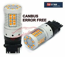 NEW 2019 CANBUS 48W T20 7440 WY21W BRIGHTEST LED AMBER INDICATOR LIGHT BULBS